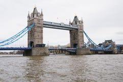 London-Kontrollturm-Brücke Lizenzfreie Stockbilder
