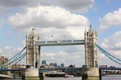 London-Kontrollturm-Brücke Lizenzfreie Stockfotografie