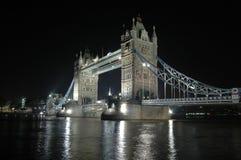 London-Kontrollturm-Brücke Stockfotos