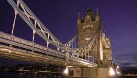 London-Kontrollturm-Brücke Stockbild