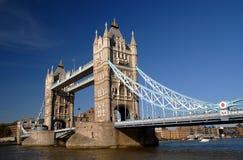 London, Kontrollturm-Brücke Stockbilder