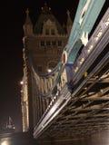 London-Kontrollturm-Brücke Stockbilder