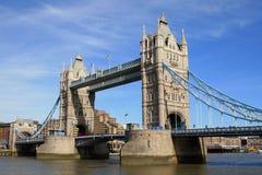 London. Kontrollturmbrücke Lizenzfreies Stockbild
