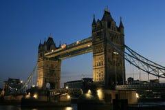 London-Kontrollturmbrücke, England Stockfoto