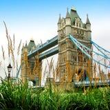 London-Kontrollturmbrücke Lizenzfreie Stockfotos