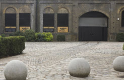 London kunglig arsenalflodstrand i London Royaltyfri Fotografi