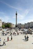 london kwadratowego trafalgar Zdjęcie Stock