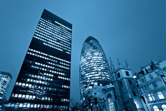 London kyline, Großbritannien. Lizenzfreie Stockfotografie