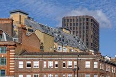 London lägenheter och kontor Arkivfoton