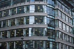 London lägenheter som bygger arbete för ställe för affärskontor Royaltyfri Foto