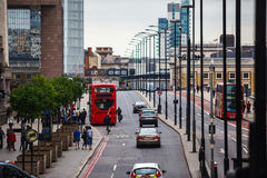 London-Lampen Stockfotos