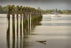 London Landing, Fraser River, Richmond Royalty Free Stock Photos