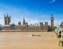 London landmark along river Thames, UK Stock Image