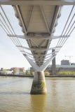 London Landmark - Millenium Bridge Royalty Free Stock Photography