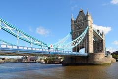 London landmark. London, UK - famous Tower Bridge. Historic landmark Stock Image
