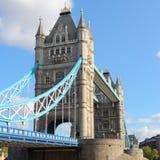 London landmark. London, United Kingdom - famous Tower Bridge. Old landmark. Square composition Royalty Free Stock Image