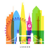 London landmarks Royalty Free Stock Image