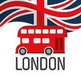 London landmarks design Royalty Free Stock Images