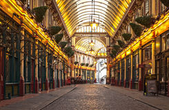 London Leadenhall market Royalty Free Stock Photo