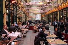 London Leadenhall Market Royalty Free Stock Photography