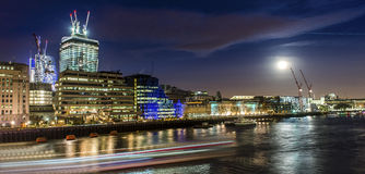 London lights Royalty Free Stock Photos