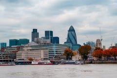 london linia horyzontu Zdjęcie Royalty Free