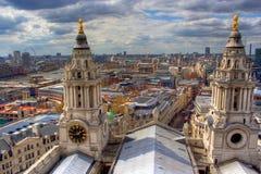 london linia horyzontu Obrazy Royalty Free