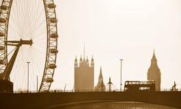 london linia horyzontu Fotografia Royalty Free