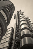 London - lloyds building in evening Royalty Free Stock Photo