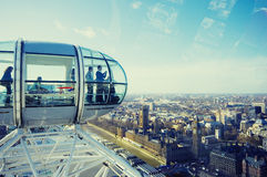 London - London Eye Royalty Free Stock Images