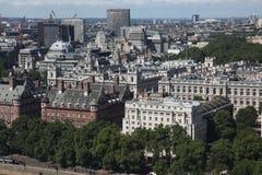London from London Eye, UK Stock Photography