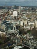 london looking over Стоковая Фотография