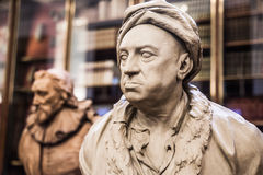 London. Louis-François. Sculpture of The Enlightenment Gallery British museum Royalty Free Stock Photo