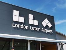 London Luton Airport royalty free stock image