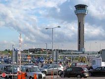 London Luton flygplats Royaltyfri Foto