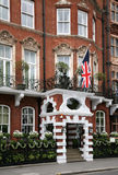 London luxury hotel Stock Image
