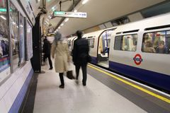 London metro Royaltyfri Fotografi