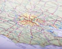 london mapa Zdjęcia Stock