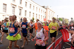 The London Marathon Stock Photo
