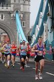 London marathon 2010. Royalty Free Stock Photography