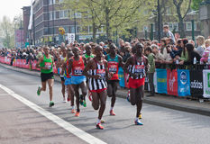 London Marathon 2011 Royalty Free Stock Image