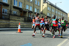 London Marathon 2011, Emmanuel Mutai Royalty Free Stock Photo