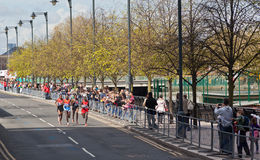 London Marathon 2012 - Lel, Mutai, Tsegay, Worku Stock Photo