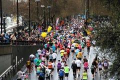 London-Marathon Lizenzfreie Stockbilder