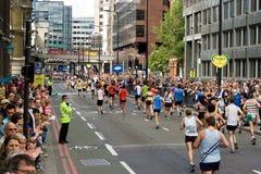 London Marathon. Flora London Marathon aprill 2009 Royalty Free Stock Photography