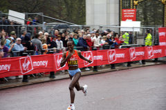 London marathon elite women stock image
