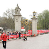 London marathon wheelchair winner 2010 Royalty Free Stock Images