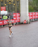 London-Marathonauslesefrauen Stockbild