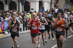 london maraton 2010 Royaltyfri Bild