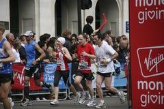 london maraton 2010 Arkivbilder